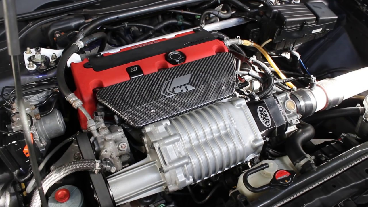 300 whp supercharged acura tsx engine overview [ 1280 x 720 Pixel ]