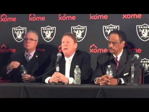 Oakland Raiders Coliseum JPA Press Conference To Announce Lease V2
