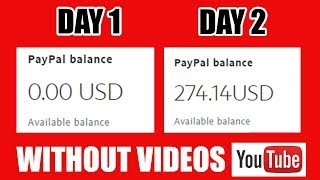 How To Make $270 On Youtube Without Recording Any Video 2019