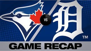 Guerrero, Drury power Blue Jays to 7-5 win | Blue Jays-Tigers Game Highlights 7/20/19