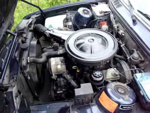 Bmw E30 316 Motor Youtube