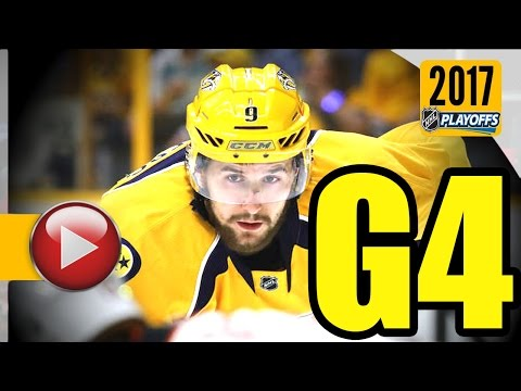 Anaheim Ducks vs Nashville Predators. NHL 2017 Playoffs. Western Conference Final. Game 4. (HD)