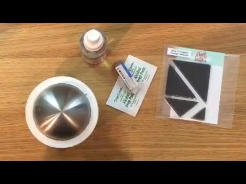 Cardmaking Tutorial: How to condition photopolymer stamps to get a perfect image every time