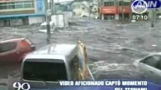 FEAR. Amateur video captures the tsunami when March 11.2011 (Video Aficionado Tsunami Japon)
