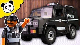 Playmobil Polizei - Verfolgungsjagd mit dem neuen Polizei Auto! - Spielzeug auspacken & spielen