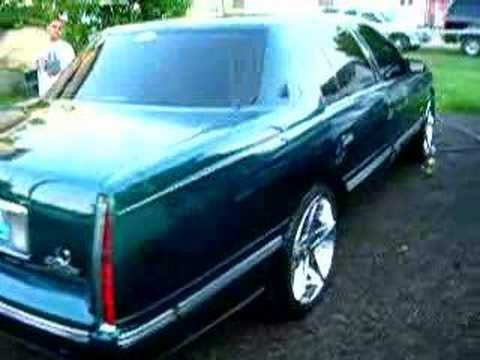 cadillac deville 1999 20 inch rims - YouTube