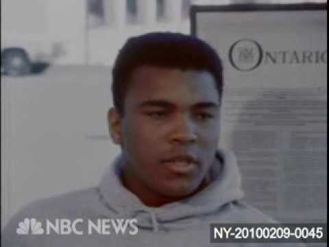 March 6, 1964: Cassius Clay becomes Muhammad Ali - www.NBCUniversalArchives.com