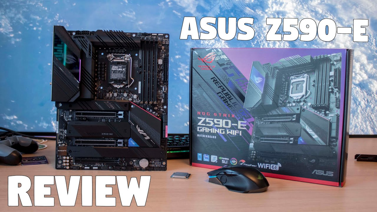 The ASUS ROG Z590-E Review by Tanel