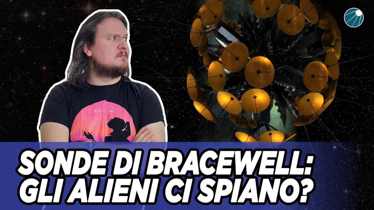 Alieni ci Spiano ? Parliamo delle Sonde di Bracewell  - #AstroCaffè