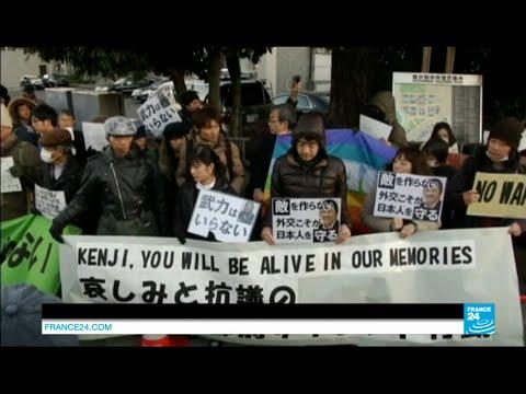 Japan's reaction to the execution of Kenji Goto by the Islamic State - #IAmKenji #KenjiGoto