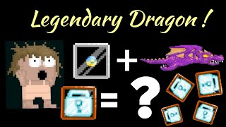 Growtopia - Buying Legendary Dragon Caged!