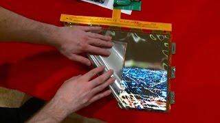 LG представила экран, который можно скручивать как бумагу