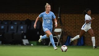 UNC Women's Soccer: Carolina Overpowers #20 Louisville, 3-0