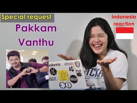 Pakkam Vanthu MV Reaction Indonesia   Kaththi   Vijay, Samantha Ruth Prabhu