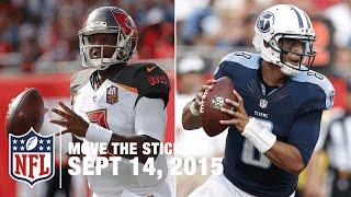 Marcus Mariota's NFL Debut and Top 4 QB Passes | Move The Sticks 9/14/15 | NFL