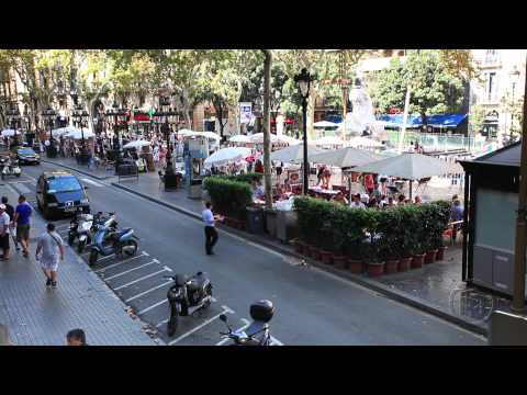 Barcelona travel video from ArmchairTourist.com
