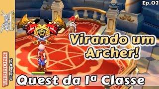 Ragnarok Online Mobile - Quest de troca da 1ª classe (Archer)