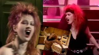 Cyndi Lauper - Girls Just Want To Have Fun (Alt. Ending & Fun Mix TV moments)