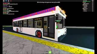 ROBLOX Buses: 10TC Thomas SLF at King Street Terminal (Former)