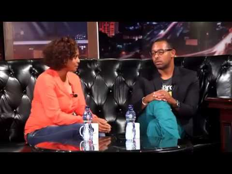 Difret Film Director Zeresenay and Aberash  at Seifu tahun Late Night