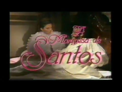 Chamada Marquesa de Santos 1989 - Rede Manchete