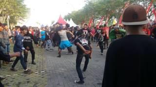 Mosh pit arena / beatdown // Billygun Live Performance at Cirebon clothfest