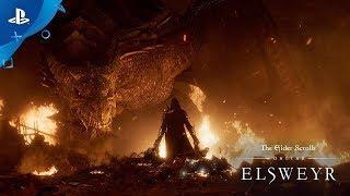 The Elder Scrolls Online: Elsweyr - E3 2019 Cinematic Trailer | PS4