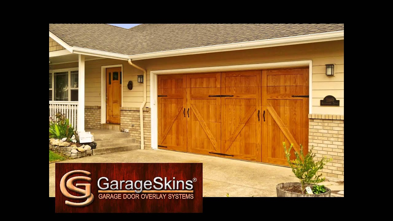 Introduction To Garageskins Garage Door Overlay Panels