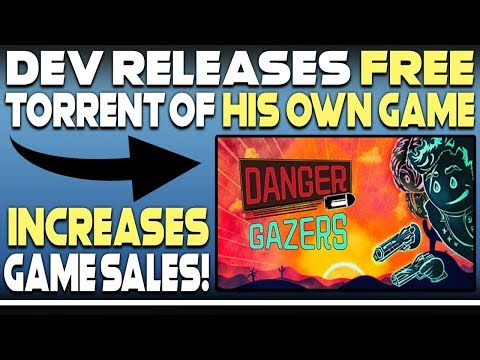 Developer Releases FREE Torrent Of His Own PC Game And INCREASES Game Sales!