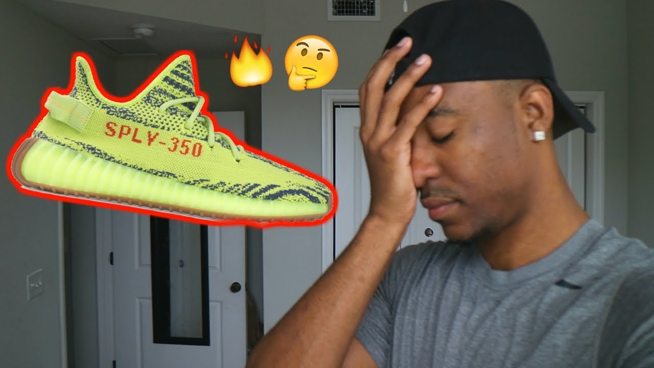 save off 7cd7e 8d62c F CK YEEZYS! ARE THEY WORTH IT  HEAT OR HYPE  SEMI FROZEN YELLOW ...