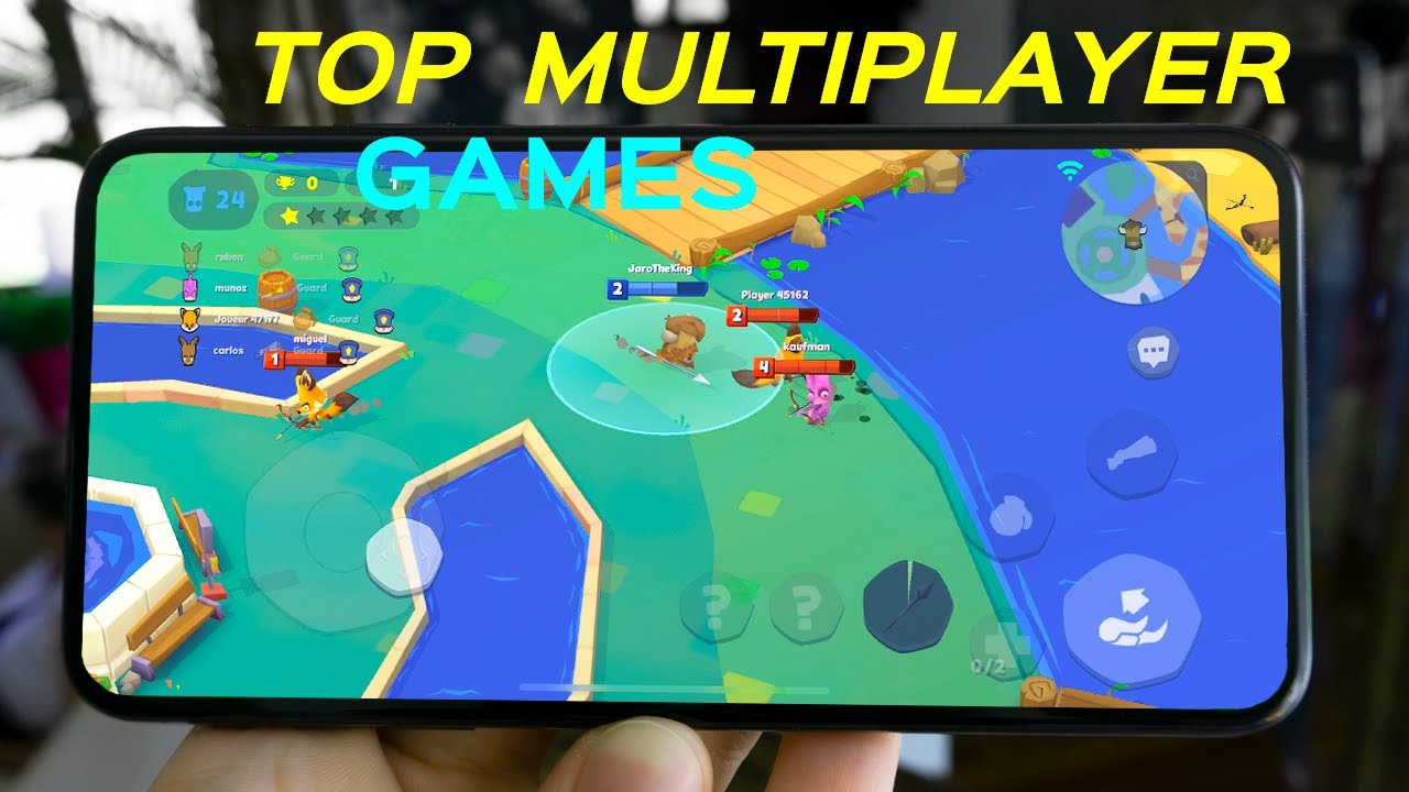 Top Best Multiplayer Mobile Games(FREE) in 2020