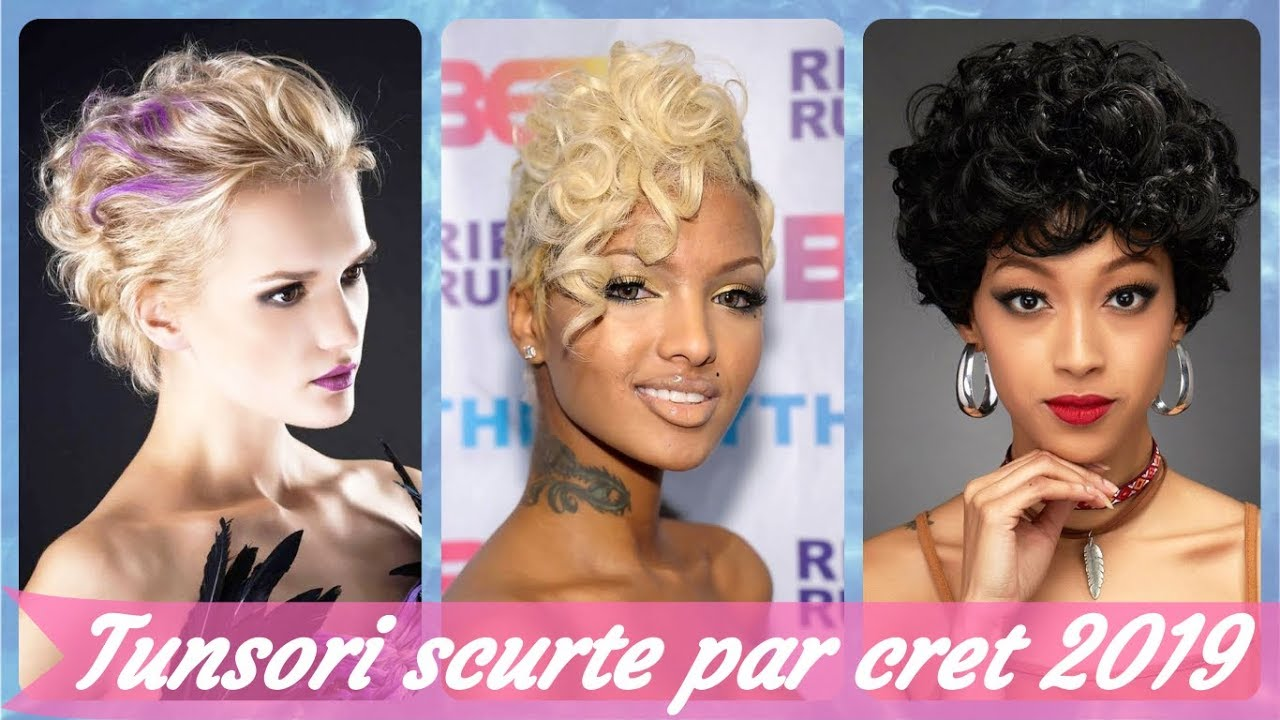 20 De Idei De Tunsori Scurte Par Cret 2019 Youtube