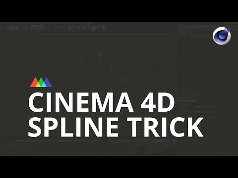 Cinema 4D Spline Trick