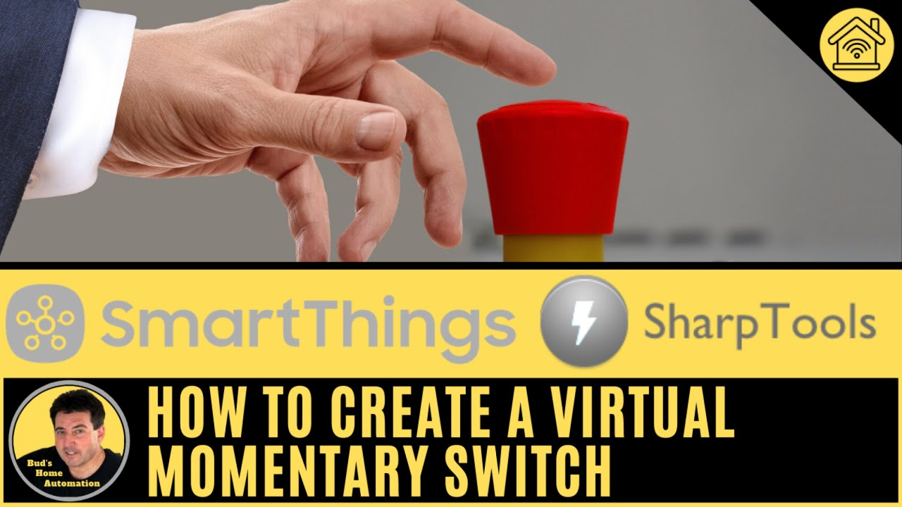 Create a Virtual Momentary Switch to Control SmartThings