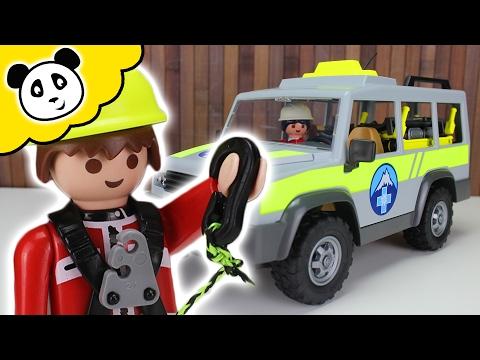 ⭕ PLAYMOBIL Abenteuer ⛰ Einsatzfahrzeug der Bergrettung ⛰ Spielzeug ausgepackt & angespielt