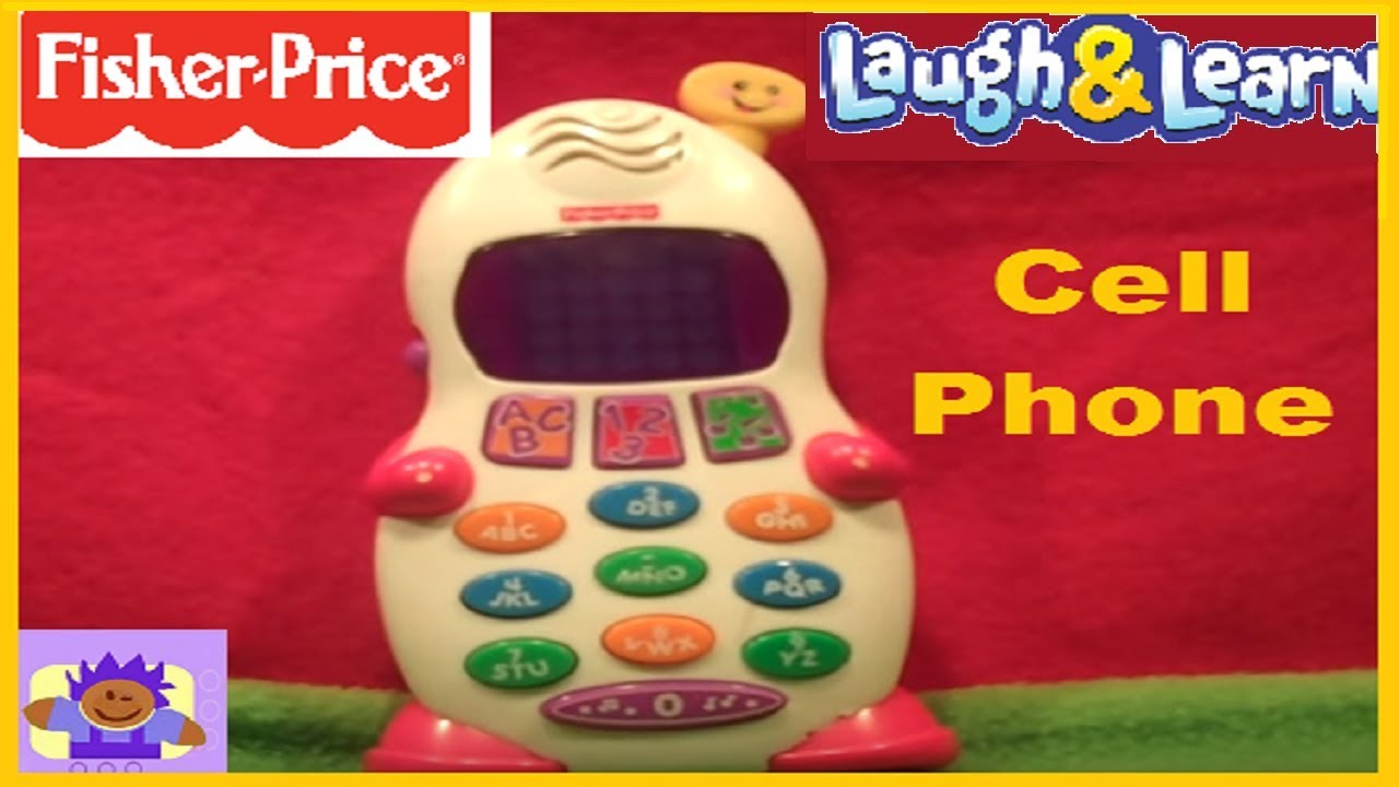 Fisher-Price Laugh & Learn Leave A Message Smart Phone ...