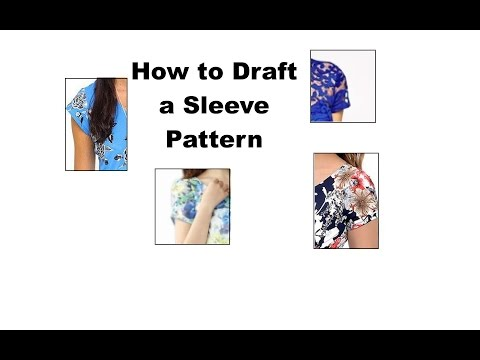 HOWTO DIY BASIC SLEEVE PATTERN