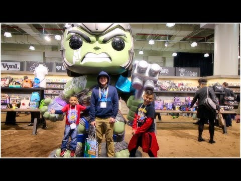 Throwing Poop and Building Cars - NYC Toy Fair 2018
