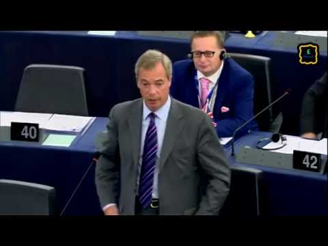 [ENG] Nigel Farage - Probably the last speech in the European parliament