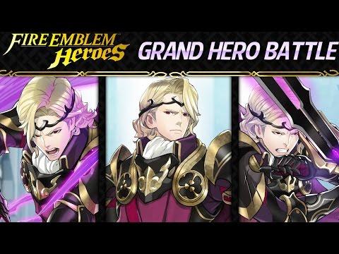 Fire Emblem Heroes: Special Map - Grand Hero Battle: Xander [Lunatic]