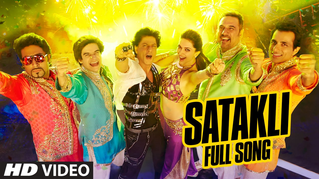official satakli full video song happy new year shah rukh khan sukhwinder singh youtube