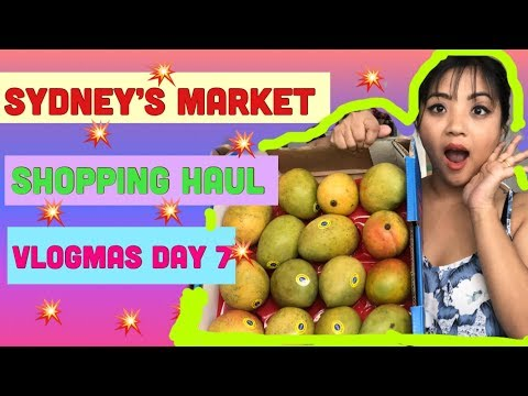 Grocery shopping haul || Sydney cheapest market || baby cries for kfc || divagossip ||