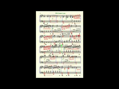 UEFA Champions League Theme --- Piano Finale NotePad + SHEET MUSIC