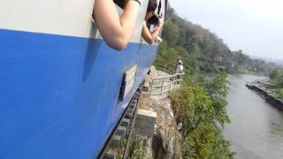 2013.02.10 The Famous Wooden Bridge On The Thai To Burma 'death Railway'