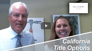 Truckee Real Estate Agent: California title options