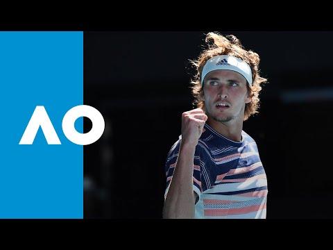 Stan Wawrinka vs Alexander Zverev - Match Highlights (QF) | Australian Open 2020