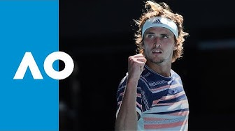Stan Wawrinka vs Alexander Zverev - Match Highlights (QF) | Australian Open 2020