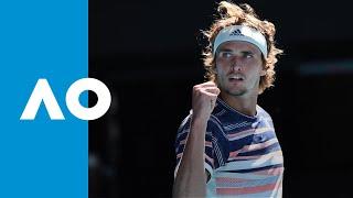 Stan Wawrinka Vs Alexander Zverev   Match Highlights Qf | Australian Open 2020