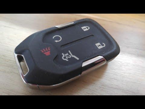 2019 – 2020 GMC Sierra Key Fob Battery Replacement – EASY DIY