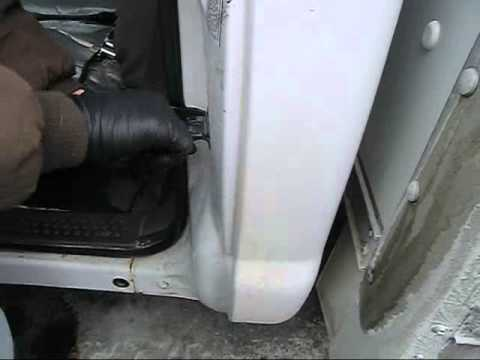 F350 Ford Door Adjust 1 10 14 Youtube